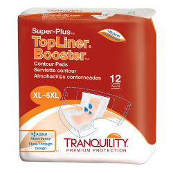 Tranquility Topliner Booster Super-Plus Contour Pad