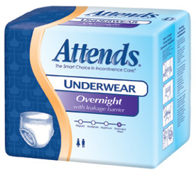 Attends Overnight Protective Protective Underwear