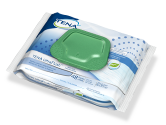 TENA Flushable Washcloths